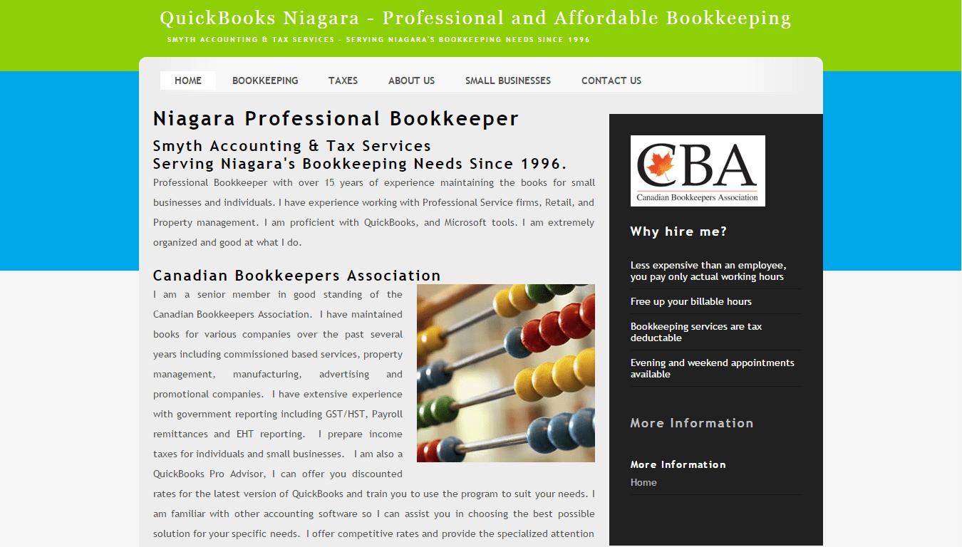 QuickBooks Niagara