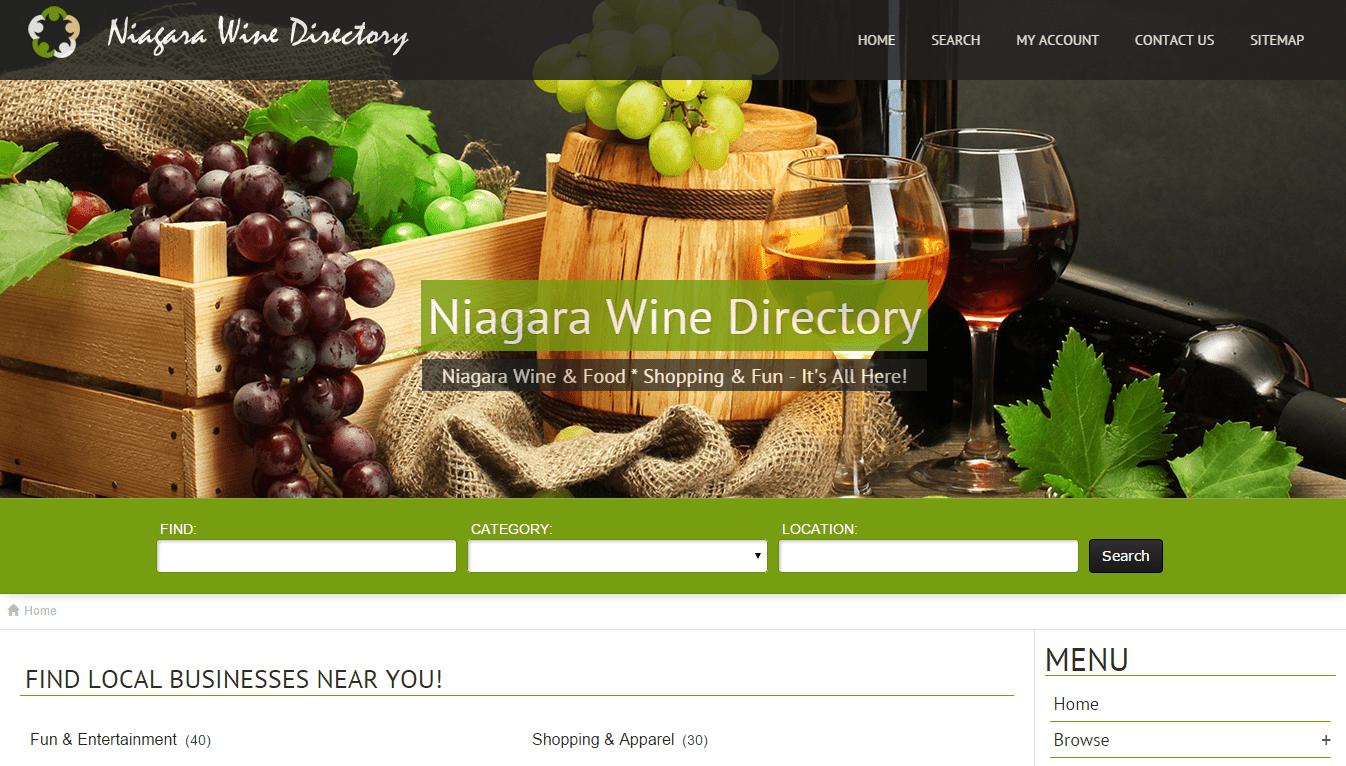 Niagara Wine Directory