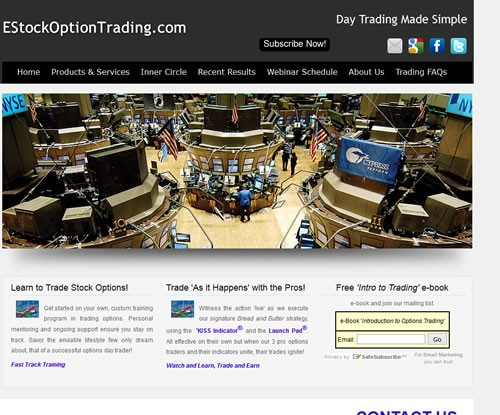 Estock Option Trading .com
