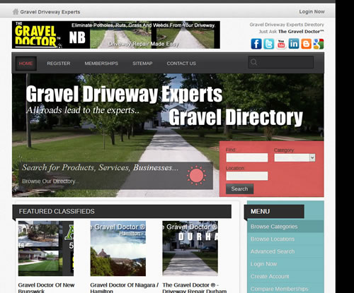Gravel Driveway Experts Directory