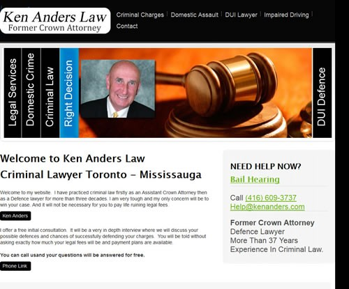 Ken Anders Lawyer