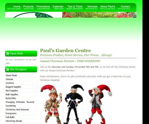 Paul's Garden Centre
