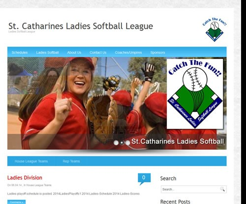 St.Catharines Ladies Softball