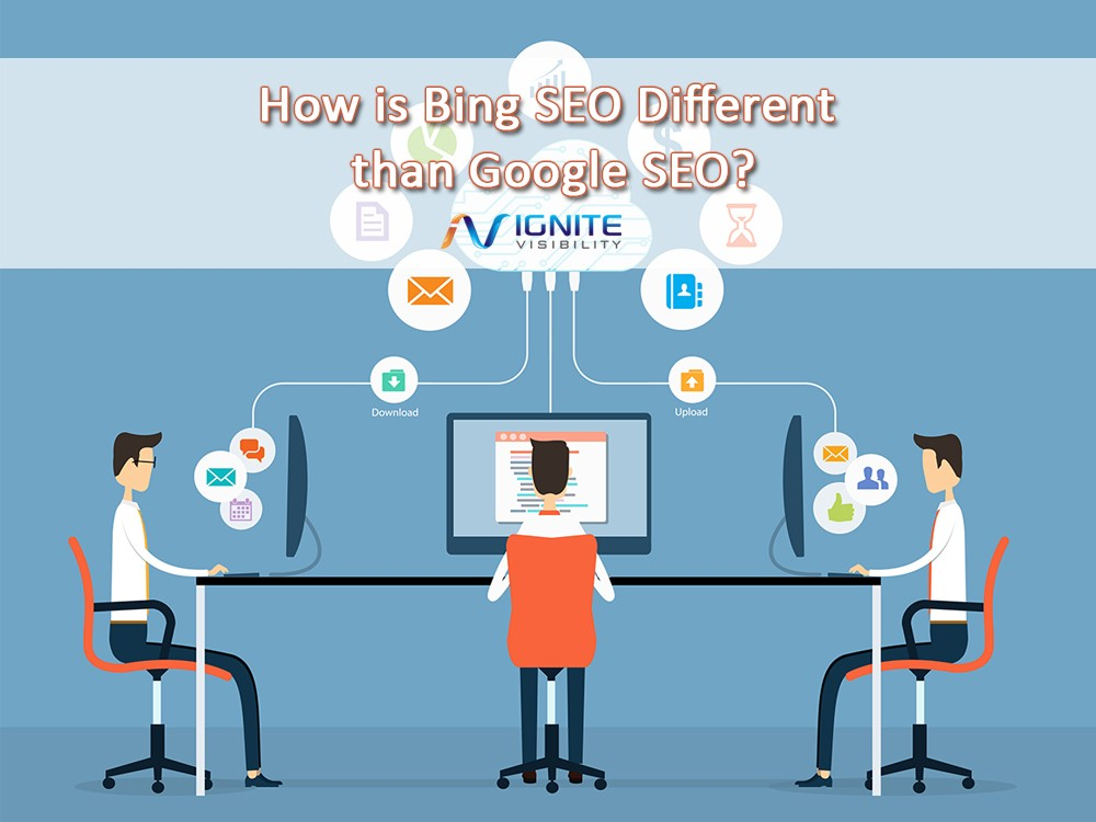Watch Video on Bing vs Google for SEO