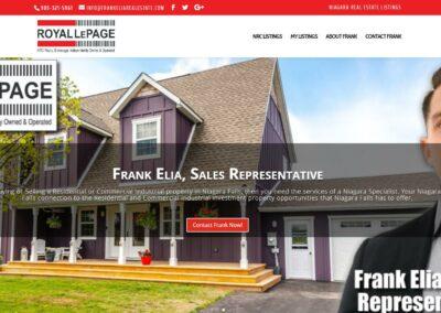 Frank Elia, Sales Representative