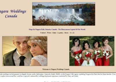 Niagara Weddings Canada